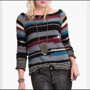 Free people montmarte wool blend sweater small